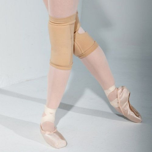 INTERMEZZO Unisex Ballet Dance Knee Pads Beige Nude Available in 3 Sizes